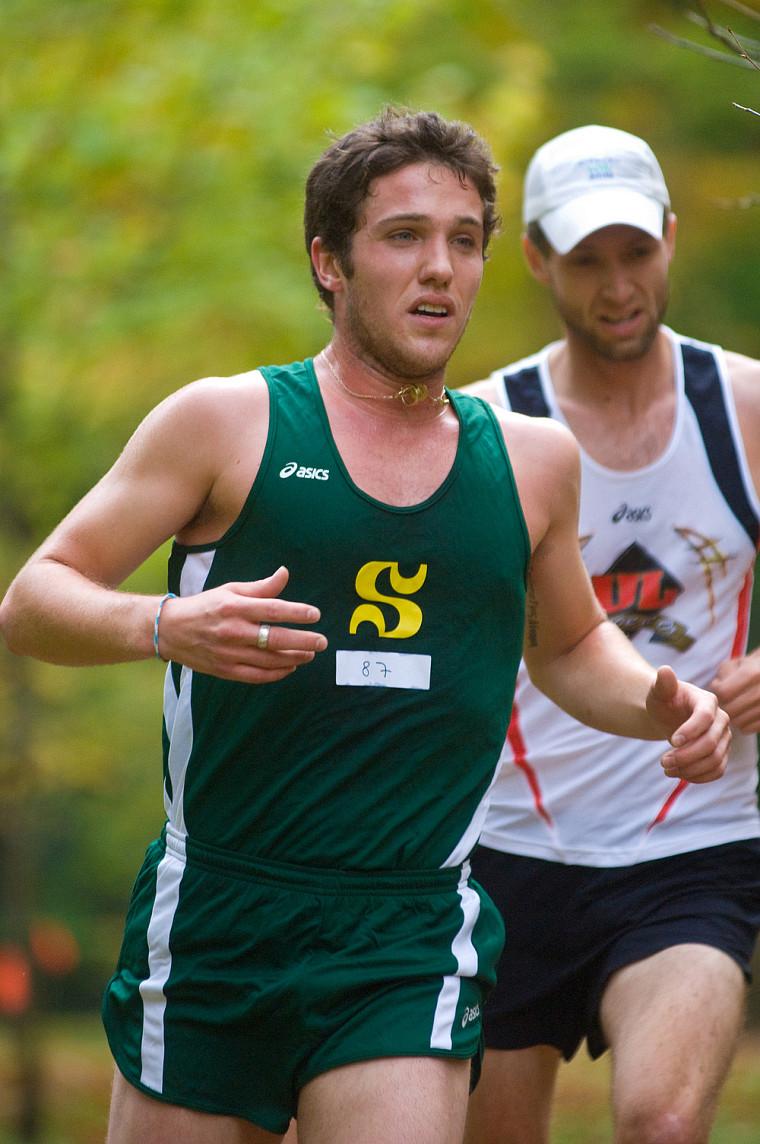 Olivier Lavoie a été le meilleur Québécois de la compétition, terminant au troisième rang, en fin de semaine dernière au Rouge et Or Invitation de cross-country.