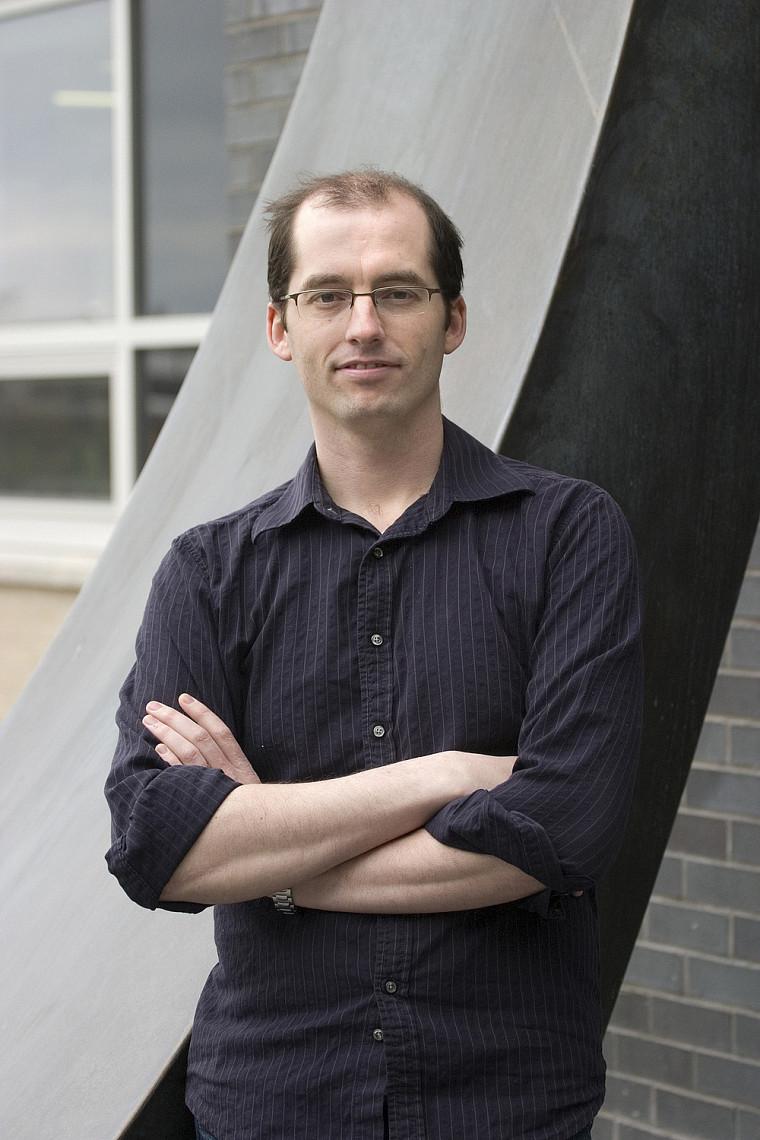 David Poulin, professeur au Département de physique de la Faculté des sciences