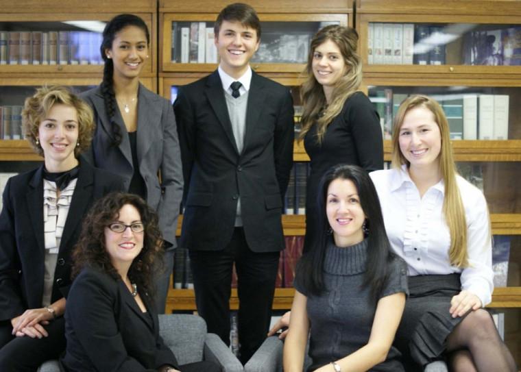 Le comité organisateur : Josée Perreault, Karine Richard, Amélie Millette-Gagnon, Geneviève Richard, Nada Boumeftah, Samuel Nadeau et Michelle Picard.