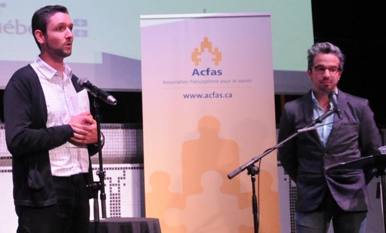 Journée de la relève en recherche de l'Acfas, 26septembre
