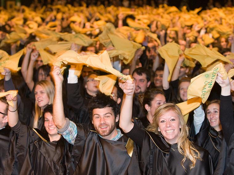 Émotion, fierté et bonne humeur ont marqué cette collation des grades 2010.