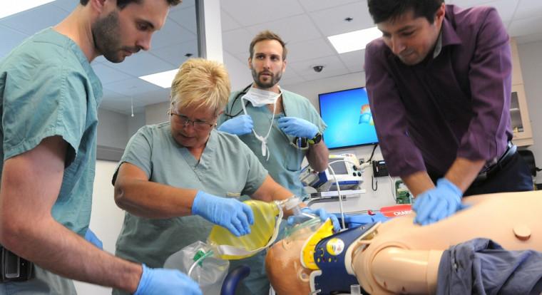 La simulation est au coeur de l'enseignement au Campus de la santé.