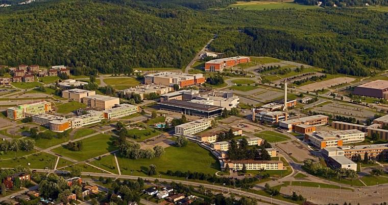 Le Campus principal vu du ciel