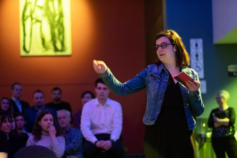 Maryline Cloutier a performé lors de l'événement