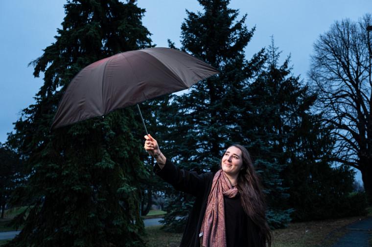 Isabelle Béliveau, étudiante en études de l'environnement et fondatrice d'Éco-motion