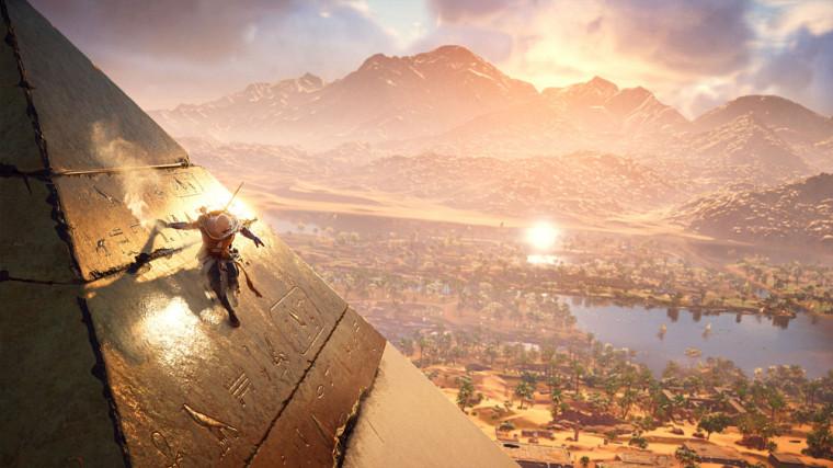 Le jeu Assassin's Creed Origins se déroule dans l'Égypte ancienne.
