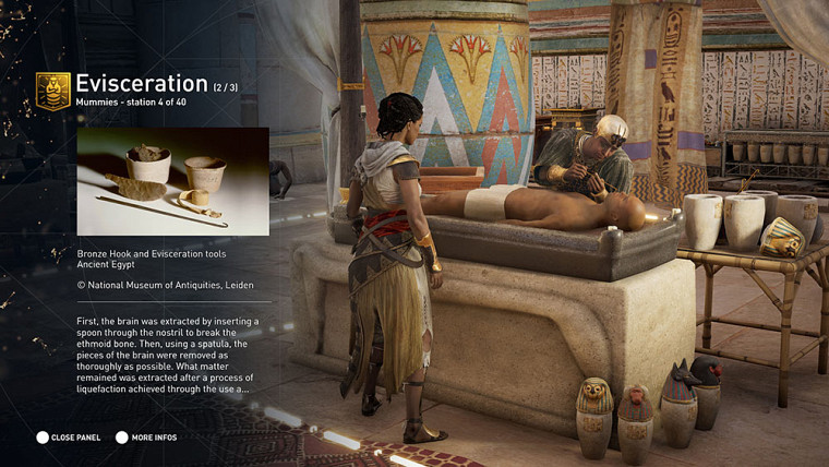 Extrait du Parcours découverte par Assassin's Creed : l'Égypte antique.