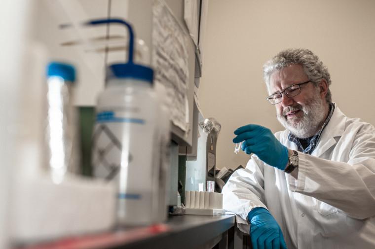Viktor Steimle, professeur au département de biologie de la Faculté des sciences