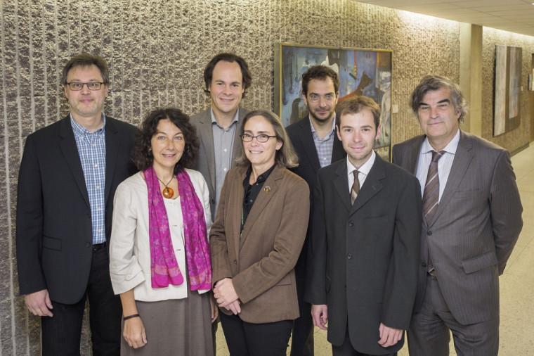 Plusieurs professeurs et spécialistes de la Faculté de droit et d'autres universités québécoises et européennes se sont réunis pour se pencher sur la norme juridique, dont Stéphane Bernatchez, Catherine Thibierge, Sébastien Lebel-Grenier, Louise Lalonde, Georges Azzaria, Cyril Sintez et François Ost.