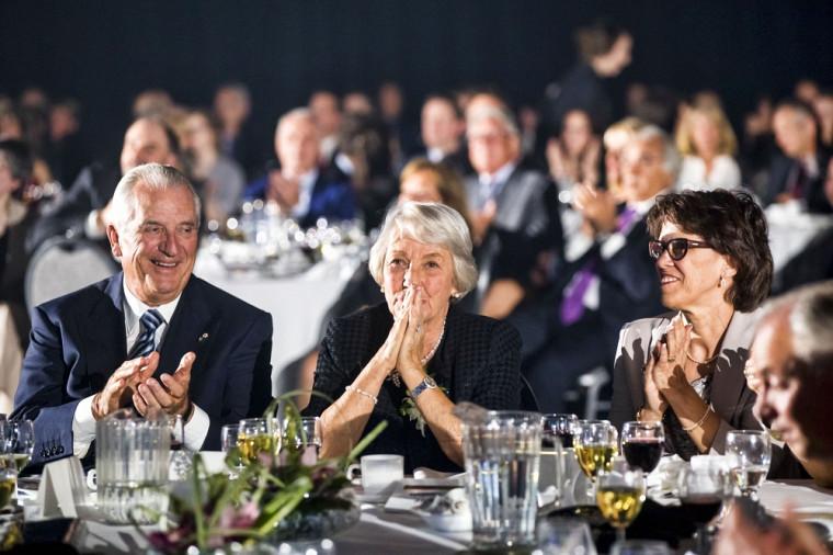 La nouvelle Grande ambassadrice, Claire B. Beaudoin, a reçu un vibrant hommage mettant en valeur son engagement et le dévouement.