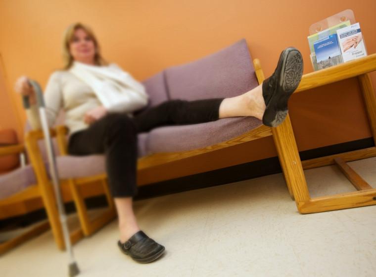 Comme Rose-Marie, une femme sur trois va souffrir d'au moins une fracture de fragilité osseuse. Chez les hommes, c'est un sur cinq.