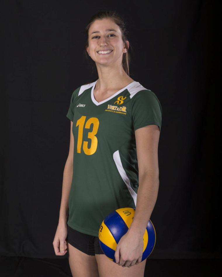 L'étudiante-athlète Sarah-Jeanne Meunier-Bédard.
