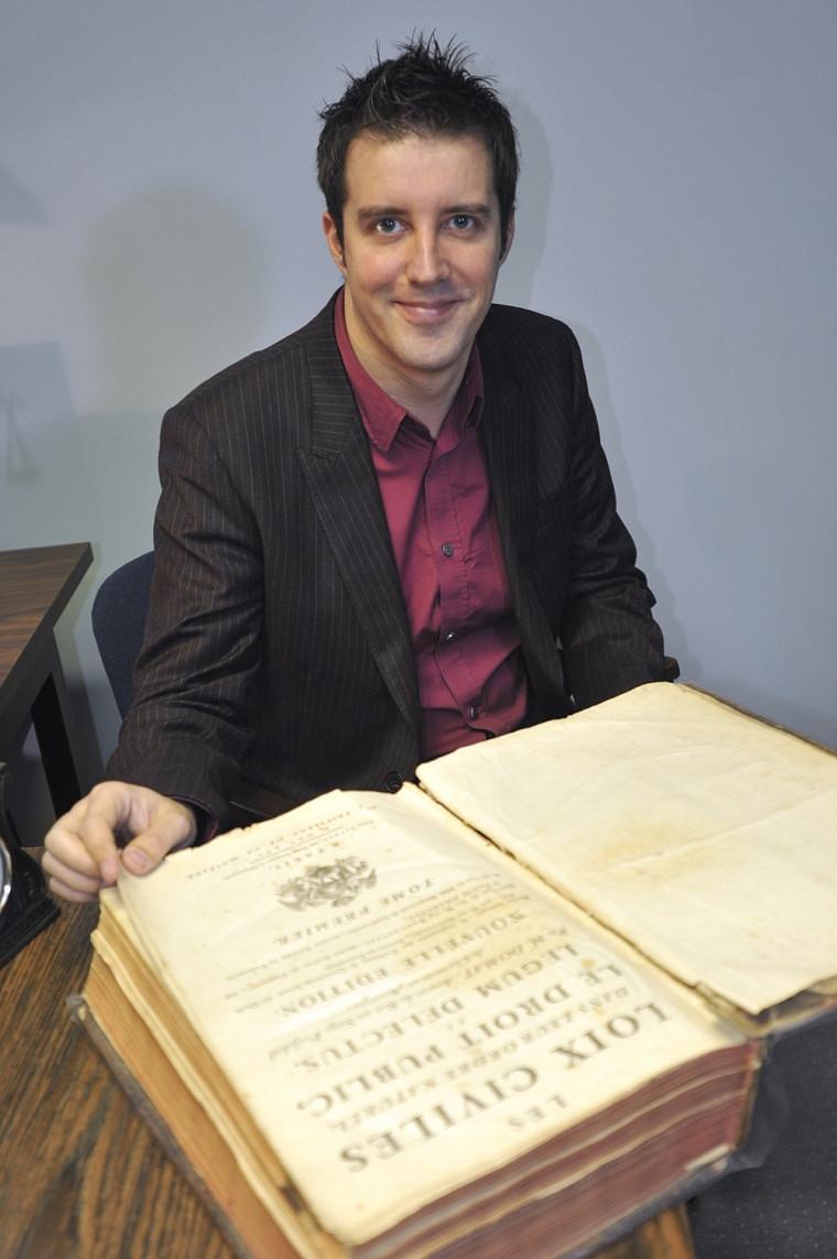 David Gilles, professeur à la Faculté de droit