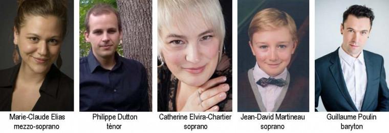 Des chanteurs estriens partageront la scène avec le chœur de l'École d'été de chant choral lors du concert gala le 2 juillet prochain, à 20h, à l'Église Plymouth-Trinity, à Sherbrooke.