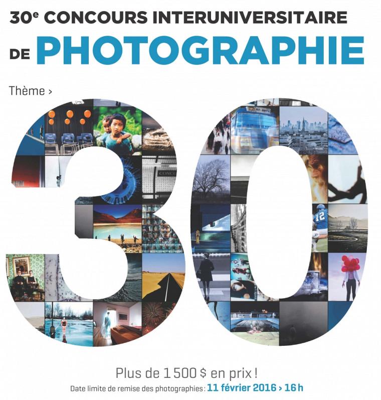 Cette année, le Concours interuniversitaire de photographie célèbre ses 30 ans. Vivez l'événement et inspirez-vous du thème proposé pour marquer le coup cette année : le chiffre 30. Comme autant d'idées, d'histoires et d'interprétations.