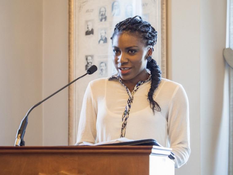 «C'est à chacun de nous d'aller découvrir et d'échanger avec cette ville et cette université», a déclaré l'étudiante Micheline Lejeune.