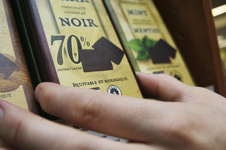 Les résultats ont démontré que le facteur que les consommateurs priorisent en général est la teneur en cacao, avec une préférence pour celle de 70%.