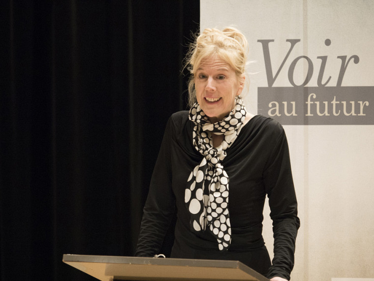 La doyenne de la Faculté des lettres et sciences humaines, la professeure Christine Hudon.