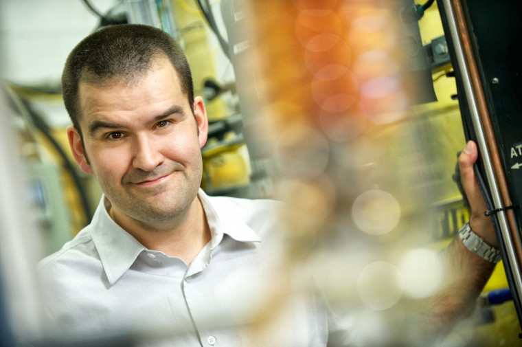Le professeur Jean-Michel Lavoie, titulaire de la Chaire de recherche industrielle sur l'éthanol cellulosique et sur les biocommodités.