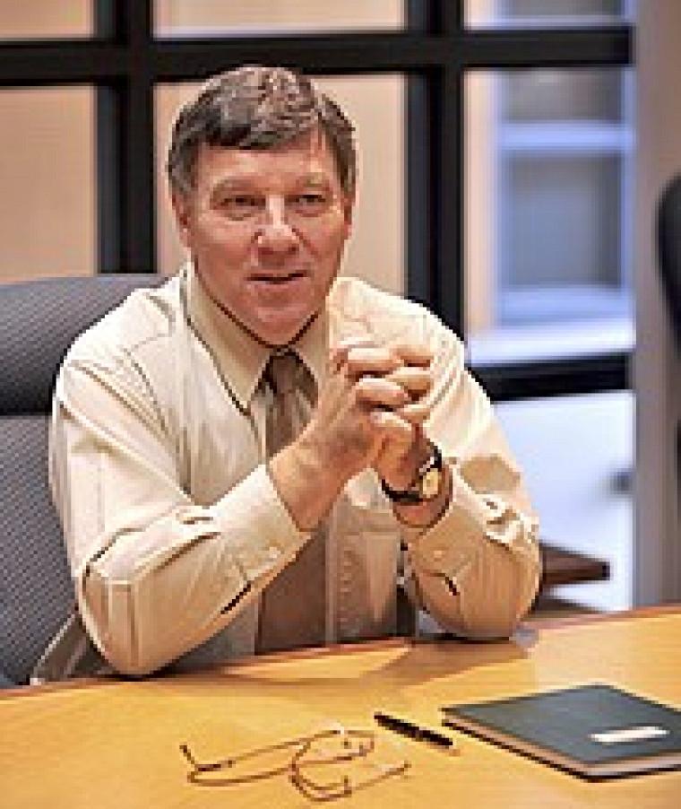 Gérard Lachiver, doyen de la Faculté de génie