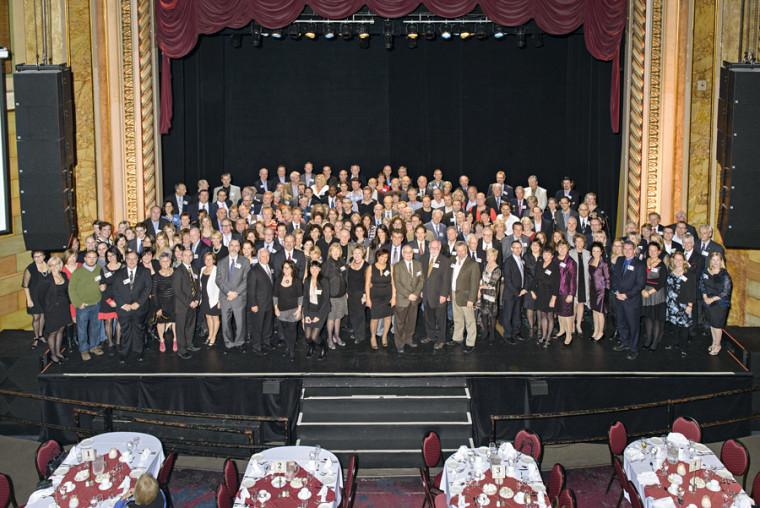 Plus de 215 diplômés ont participé aux Retrouvailles se terminant par 2 ou 7.