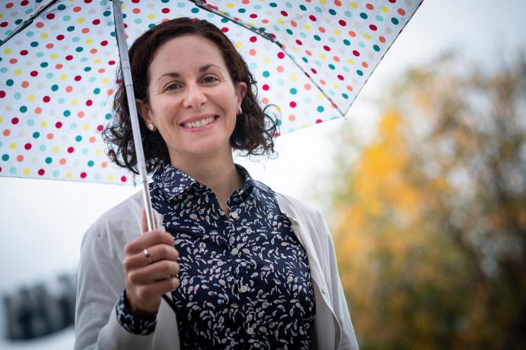 Marie-Amélie Boucher, professeure au Département de génie civil et de génie du bâtiment