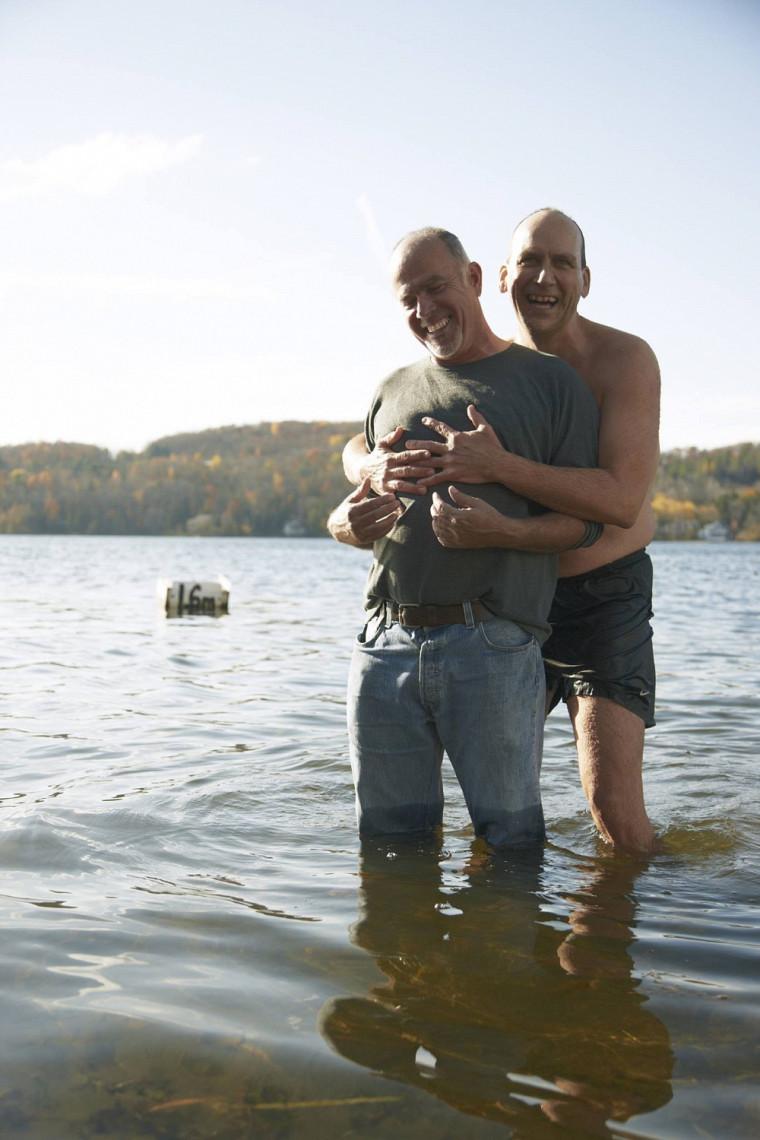 Inséparables, Alain Harvey et Claude Villeneuve ont partagé plus de 20 ans de vie commune.