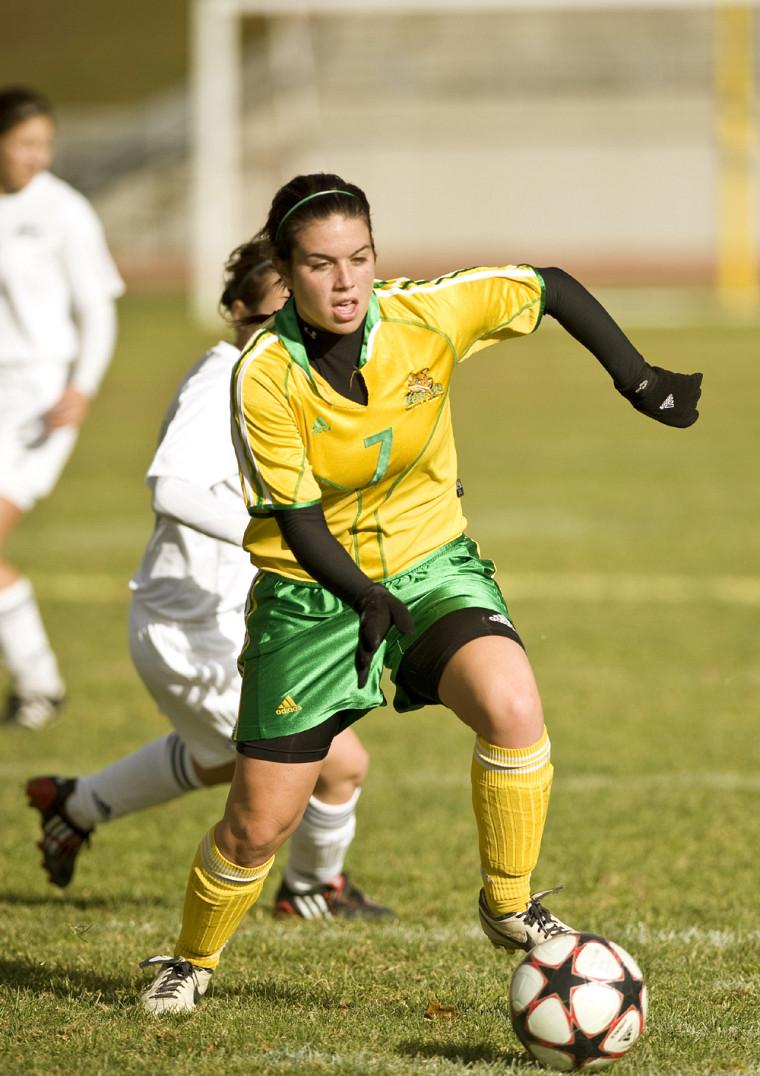 Andréanne Gagné a connu un match de quatre points, samedi face aux Citadins de l'UQAM.