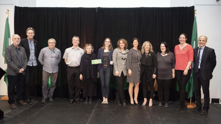 L'équipe du Centre culturel, prix Équipe inspirante.