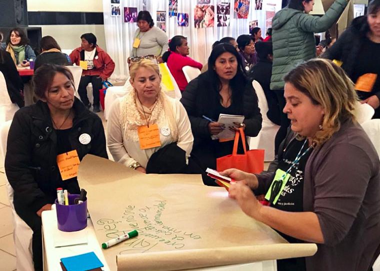 Du 26 au 29 novembre, plus de 200 femmes seront réunies dans la région de Montréal pour discuter de leurs constats et des convergences identifiées par les comités de femmes des divers pays impliqués. Cet événement est en quelque sorte le sommet de ces femmes et des féminismes en dialogue.