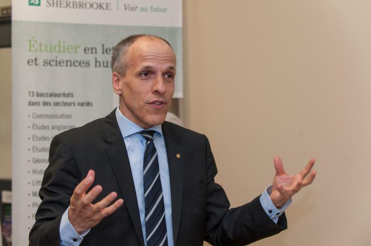 Le nouveau recteur de l'Université de Sherbrooke, le professeur Pierre Cossette.