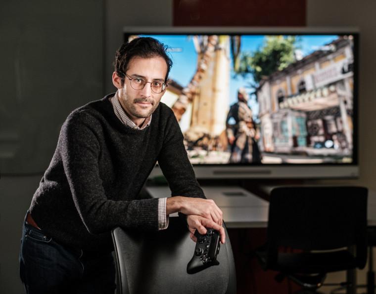 Julien Bazile, doctorant en histoire