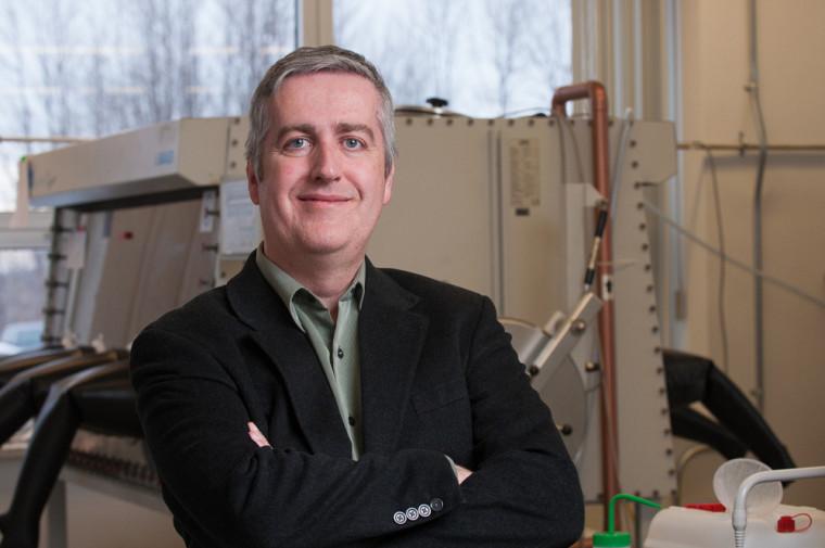 Professeur Jérôme Claverie, directeur du projet PYRIDINE