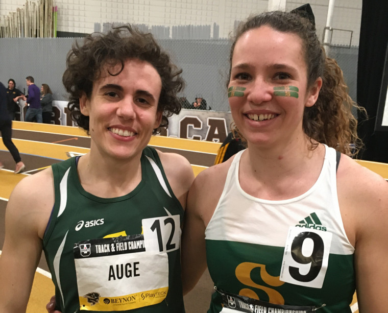 Amélie Augé et Maude Léveillé.