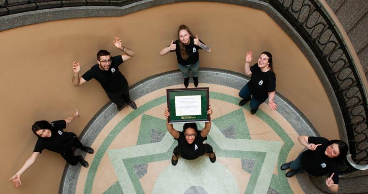 Ruche Campus s'est vu décerner le prix Développement durable.