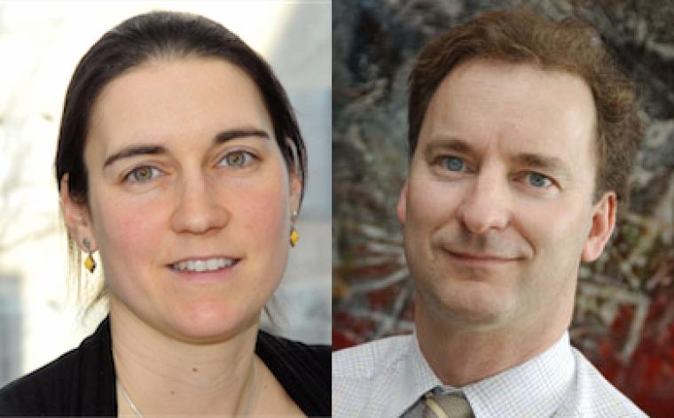 Les professeurs Marie-France Hivert et Patrice Perron, du Département de médecine
