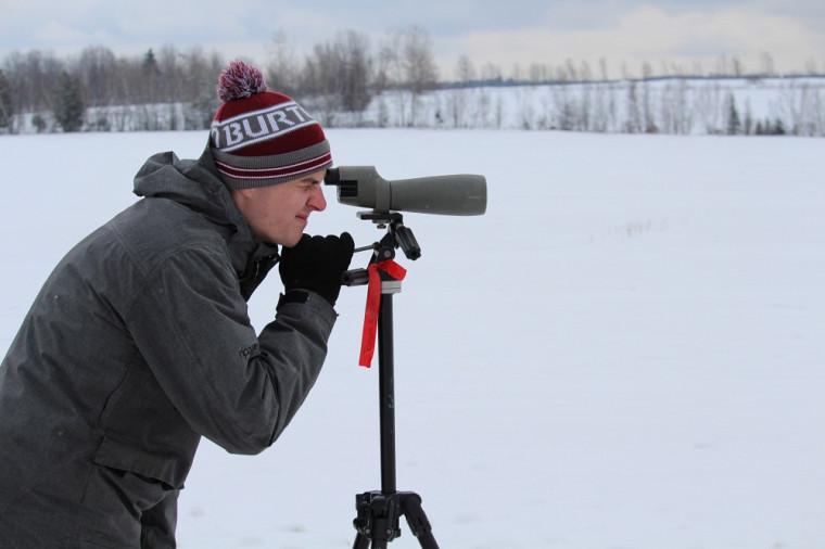 Durant ses stages, Anthony Roy a découvert une passion pour la conservation des espèces.