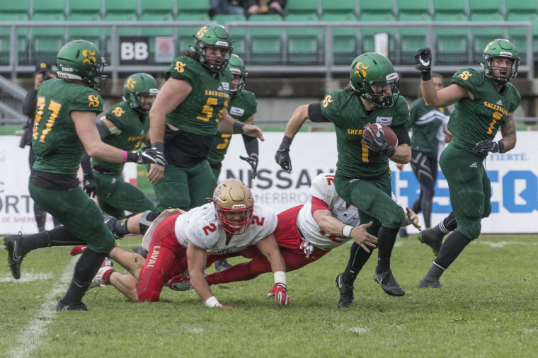 Le premier match de la saison de football 2018-2019 opposera le Vert & Or au Rouge et Or de l'Université Laval.