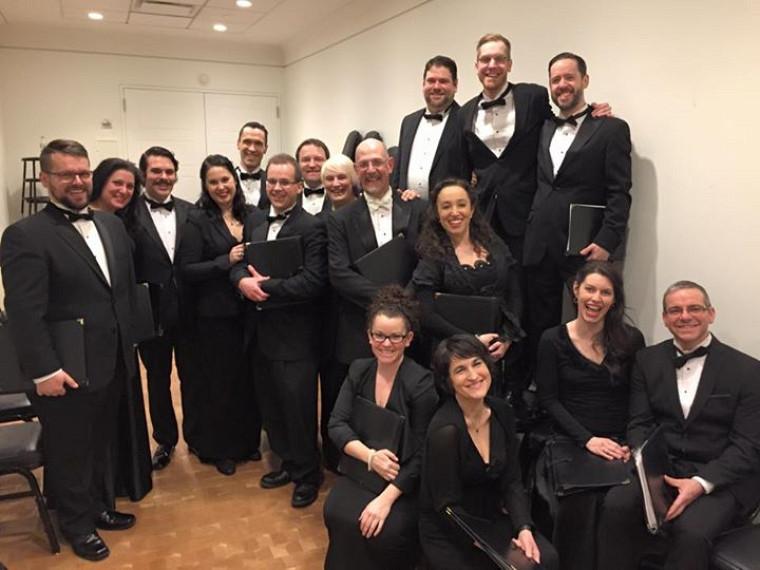 Le Choeur de Chambre du Québec et son directeur, Robert Ingari, dans les coulisses du Carnegie Hall à New York!