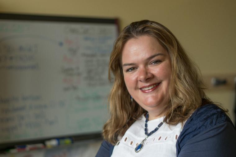 La titulaire de la Chaire, la professeure Anne Lessard