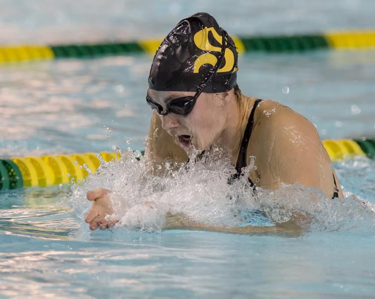 Alexandra Naisby nage pour une dernière fois en carrière sur la scène nationale à l'occasion des Essais olympiques de Natation Canada, qui se tiennent à Toronto du 5 au 10 avril.