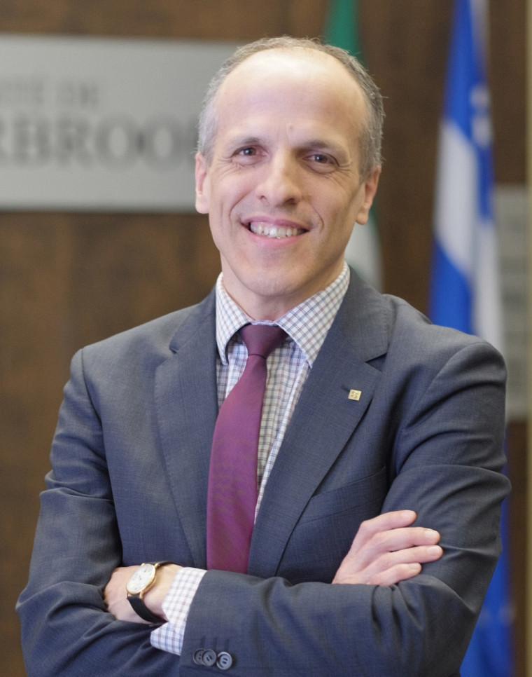 Le recteur élu, professeur Pierre Cossette.