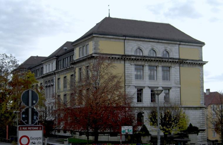 L'Ecole supérieure Numa-Droz, située à Neuchâtel, où l'étudiante a fait une partie de son stage