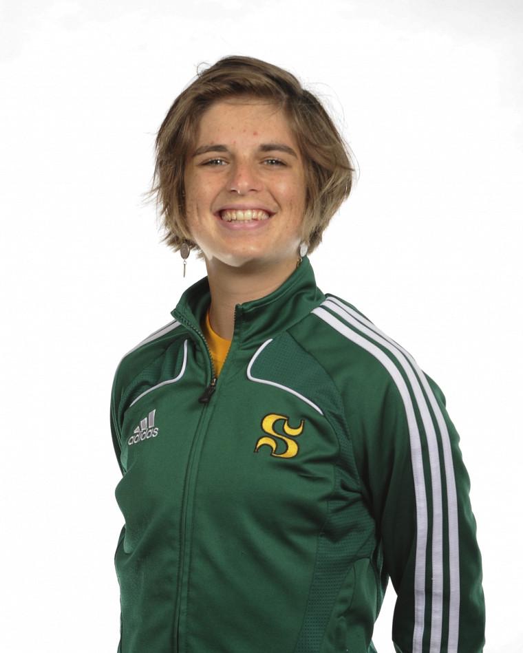 Camille Vandenberghe a été choisie joueuse du match du Vert&Or dans une défaite de 1à0 en demi-finale du circuit universitaire de soccer intérieur féminin, samedi au Centre Roland-Dussault de Sherbrooke.