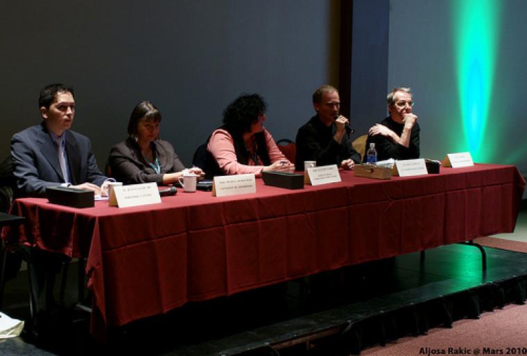 Panélistes de la table de discussion sur le cheminement professionnel