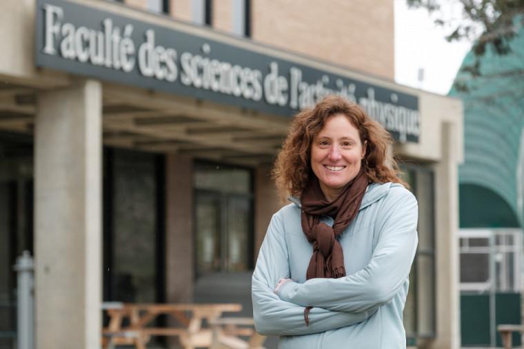 Marie-Eve Major, ergonome et professeure à la Faculté des sciences de l'activité physique