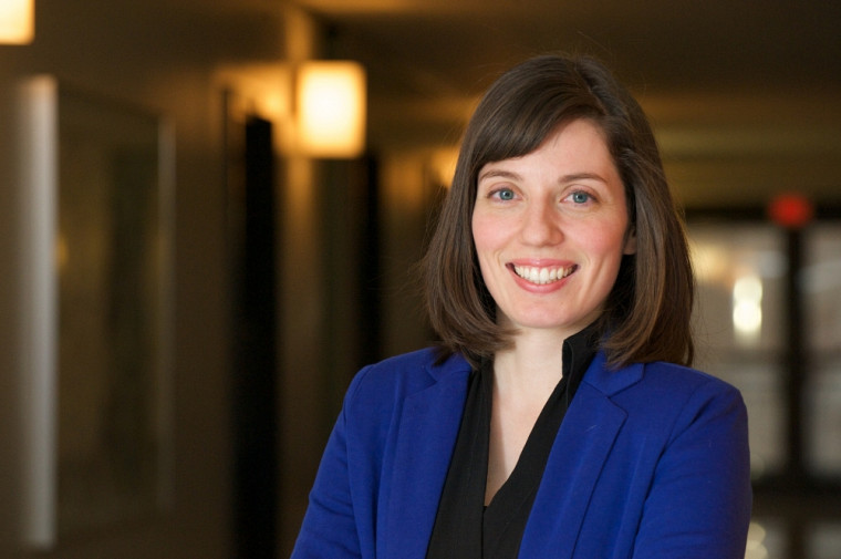 Hélène Mayrand travaille sur la protection environnementale de l'Arctique dans le contexte des changements climatiques.