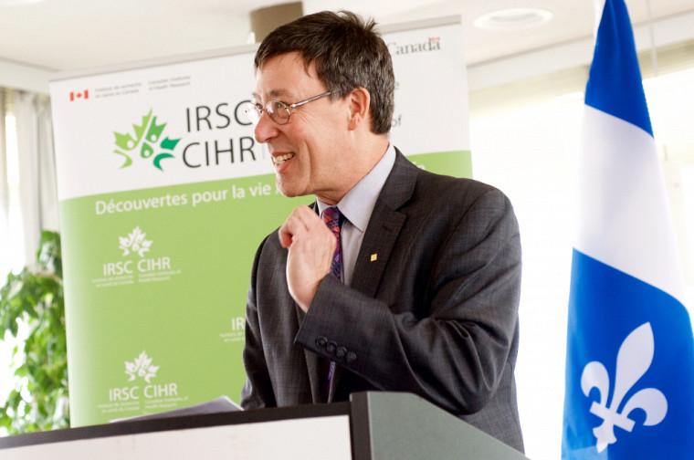 Le professeur Jean-Pierre Perreault, vice-recteur à la recherche et aux études supérieures de l'Université de Sherbrooke.