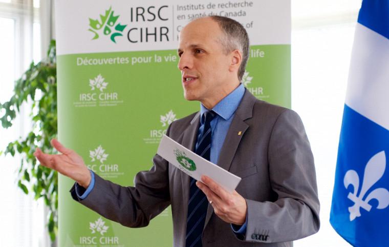 Le professeur Pierre Cossette, recteur de l'UdeS, a tenu à souligner l'excellent positionnement des chercheuses et des chercheurs sur le plan national.