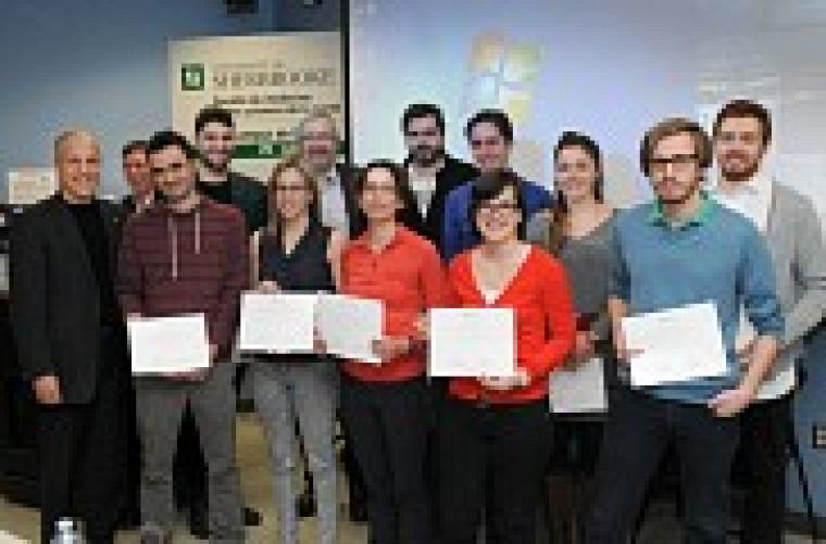 Les finalistes et les lauréatsdu Concours de vulgarisationscientifique 2015